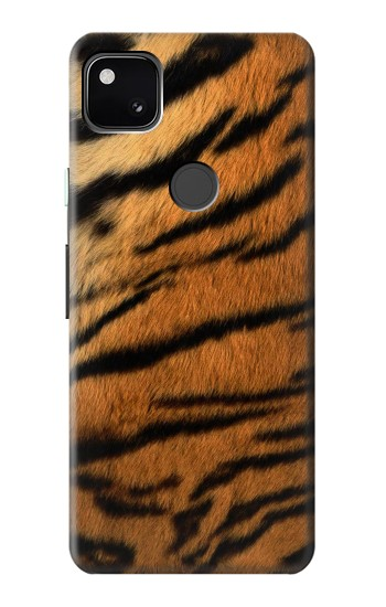 Printed Tiger Stripes Texture Google Pixel 4a Case