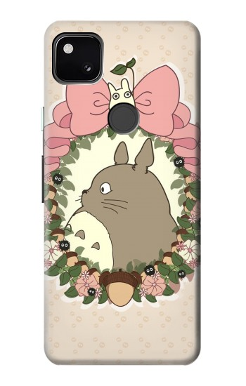 Printed My Neighbor Totoro Wreath Google Pixel 4a Case