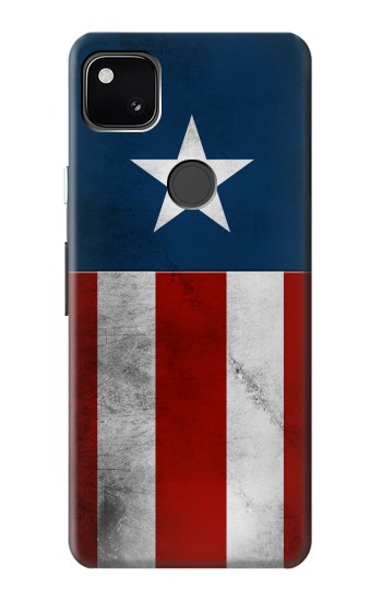 Printed Captain Star Flag of America Google Pixel 4a Case