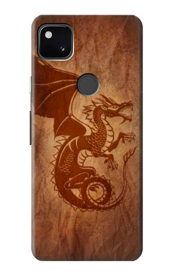 Printed Red Dragon Tattoo Google Pixel 4a Case