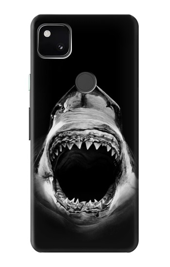 Printed Great White Shark Google Pixel 4a Case