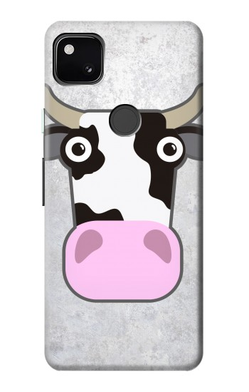 Printed Cow Cartoon Google Pixel 4a Case