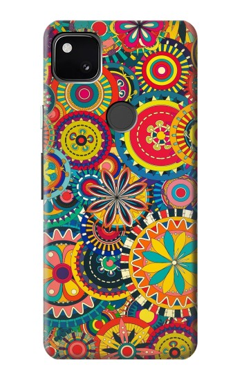 Printed Colorful Pattern Google Pixel 4a Case