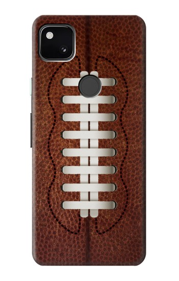 Printed Leather Vintage Football Google Pixel 4a Case