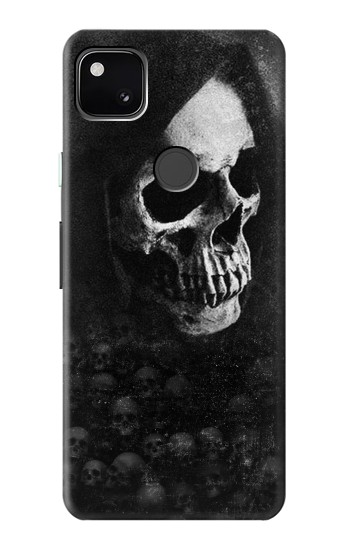 Printed Death Skull Google Pixel 4a Case