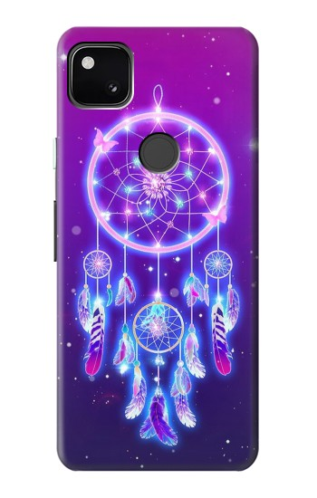 Printed Cute Galaxy Dream Catcher Google Pixel 4a Case