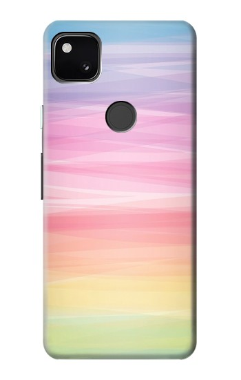 Printed Colorful Rainbow Pastel Google Pixel 4a Case