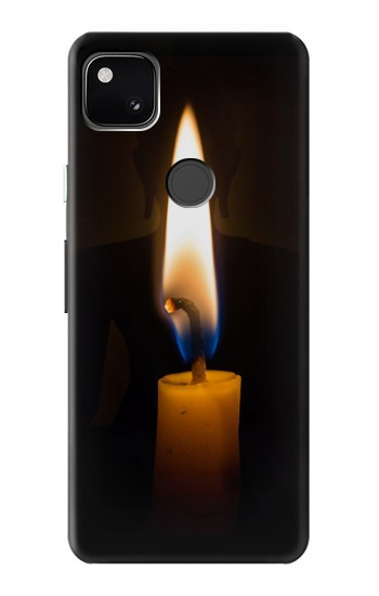 Printed Buddha Candle Burning Google Pixel 4a Case