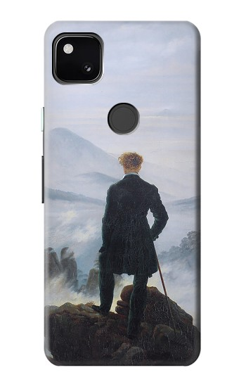 Printed Wanderer above the Sea of Fog Google Pixel 4a Case