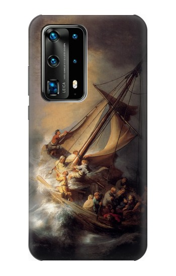 Printed Rembrandt Christ in The Storm Huawei P40 Pro Case