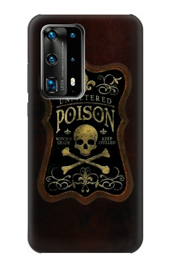 Printed Unfiltered Poison Vintage Glass Bottle Huawei P40 Pro Case