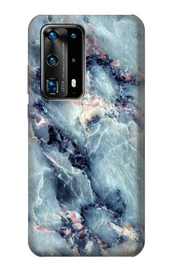 Printed Blue Marble Texture Huawei P40 Pro Case