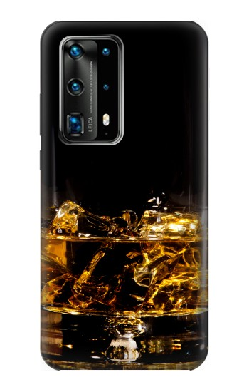 Printed Ice Whiskey Glass Huawei P40 Pro Case