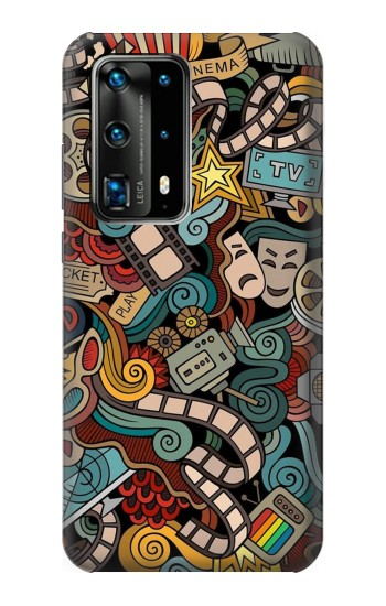 Printed Movie Acting Entertainment Huawei P40 Pro Case