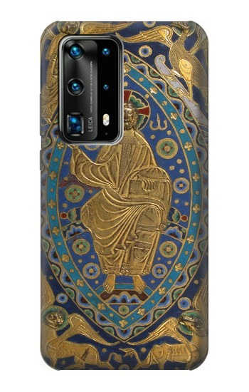 Printed Book Cover Christ Majesty Huawei P40 Pro Case
