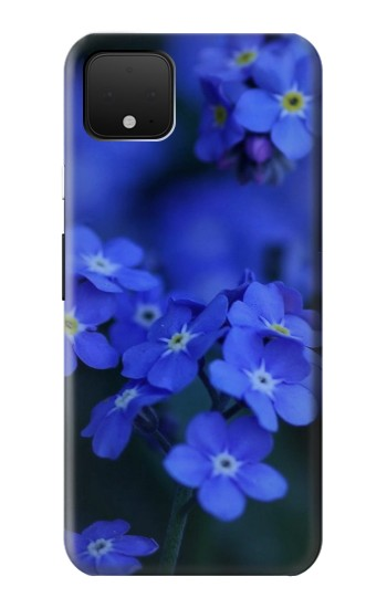 Printed Forget me not Google Pixel 4 XL Case