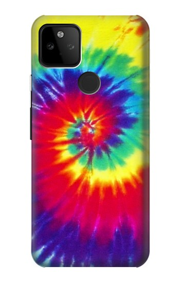 Printed Tie Dye Fabric Color Google Pixel 5A 5G Case