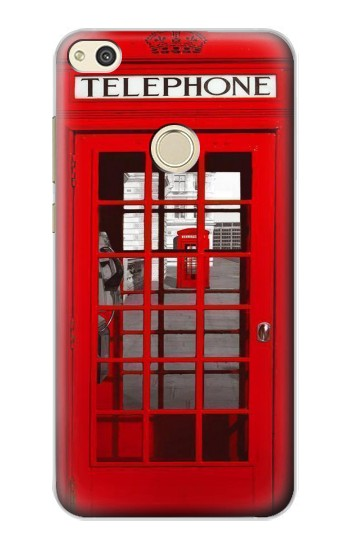 Huawei P8 Lite (2017) Classic British Red Telephone Box Case Cover