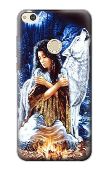 Printed Grim Wolf Indian Girl alcatel Idol 2 Case