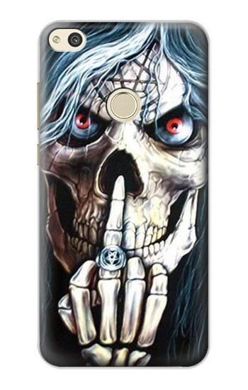 Printed Skull Pentagram alcatel Idol 2 Case