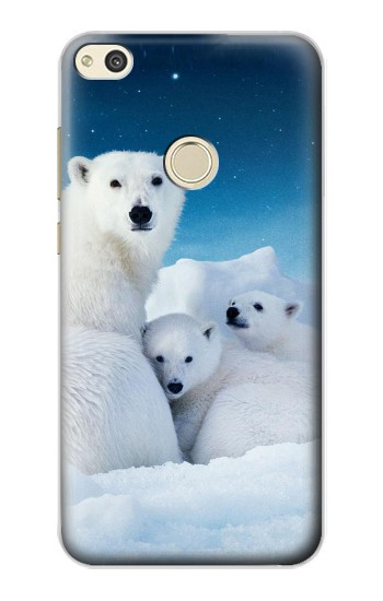 Printed Polar Bear Family Arctic alcatel Idol 2 Case