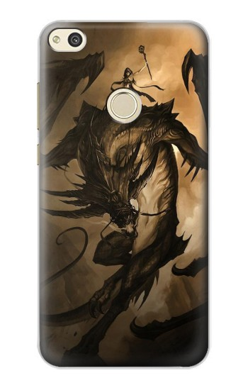 Printed Dragon Rider alcatel Idol 2 Case
