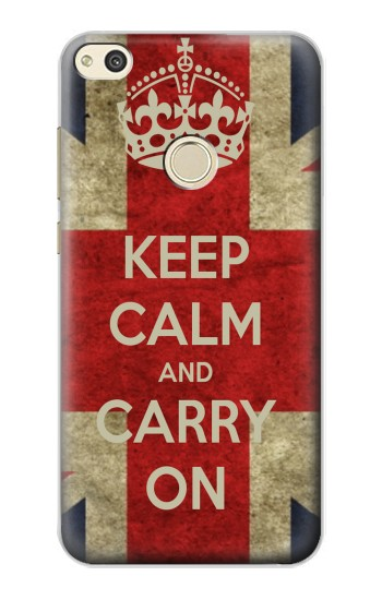 Printed Keep Calm and Carry On alcatel Idol 2 Case