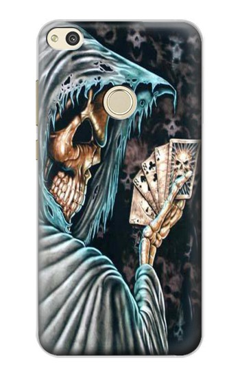 Printed Grim Reaper Death Poker alcatel Idol 2 Case