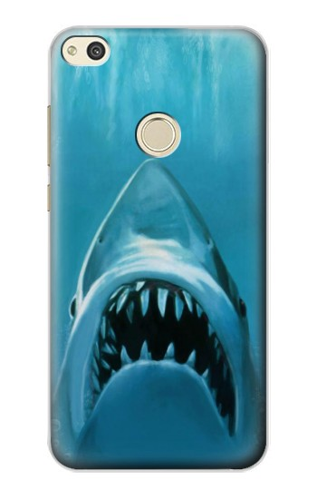 Printed White Shark alcatel Idol 2 Case