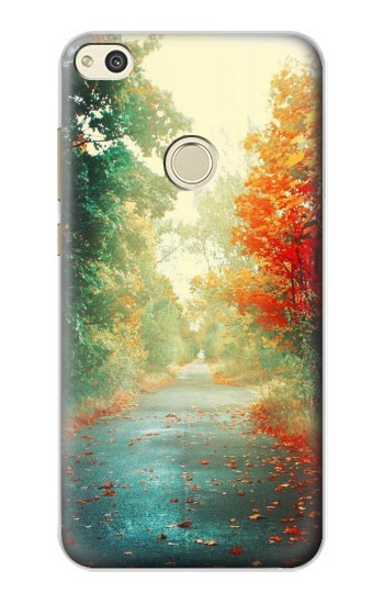 Printed Road Through The Woods alcatel Idol 2 Case