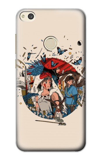 Printed Princess Mononoke alcatel Idol 2 Case