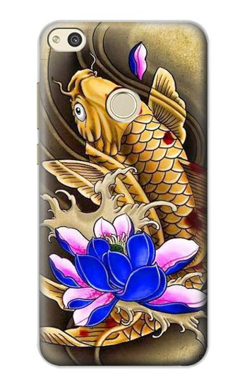 Printed Carp Koi Fish Japanese Tattoo alcatel Idol 2 Case