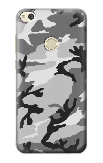 Huawei P8 Lite (2017) Snow Camo Camouflage Graphic Printed Case Cover