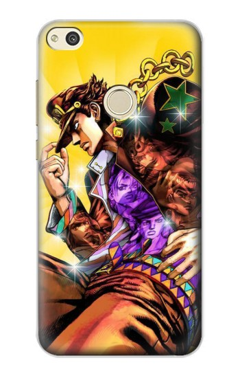 Printed Jojo Bizarre Adventure Kujo Jotaro alcatel Idol 2 Case