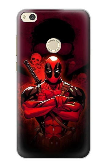 Printed Deadpool Skull alcatel Idol 2 Case