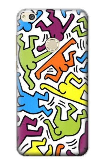 Printed Keith Haring alcatel Idol 2 Case