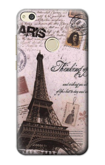Printed Paris Postcard Eiffel Tower alcatel Idol 2 Case