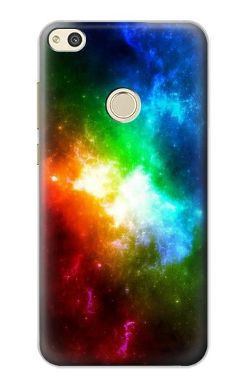 Huawei P8 Lite (2017) Colorful Rainbow Space Galaxy Case Cover