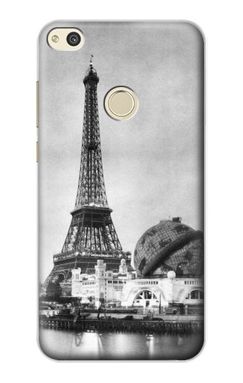 Printed Old Paris Eiffel Tower alcatel Idol 2 Case