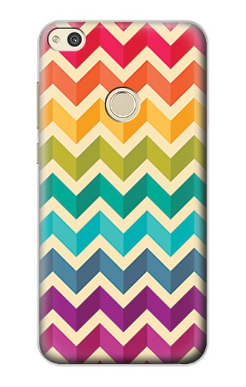 Printed Rainbow Colorful Shavron Zig Zag Pattern alcatel Idol 2 Case