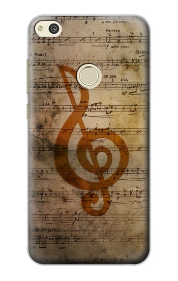 Printed Sheet Music Notes alcatel Idol 2 Case