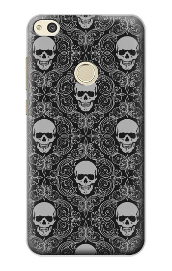 Printed Skull Vintage Monochrome Pattern alcatel Idol 2 Case
