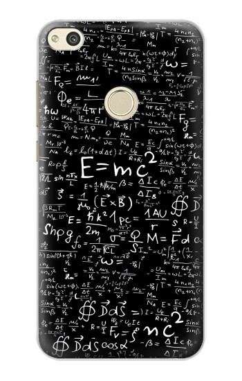 Printed Mathematics Physics Blackboard Equation alcatel Idol 2 Case