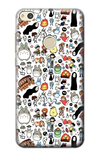 Printed Ghibli Characters alcatel Idol 2 Case