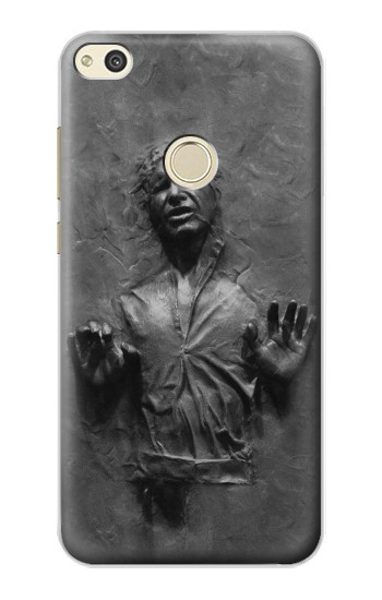 Huawei P8 Lite (2017) Han Solo Frozen in Carbonite Case Cover