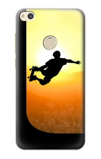 Printed Extreme Skateboard Sunset alcatel Idol 2 Case
