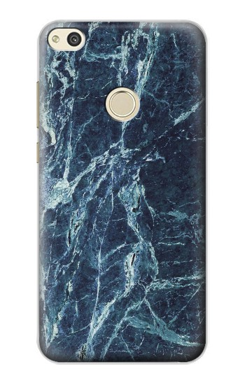 Printed Light Blue Marble Stone Texture Printed alcatel Idol 2 Case