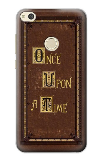 Huawei P8 Lite (2017) Once Upon a Time Book Cover Case Cover