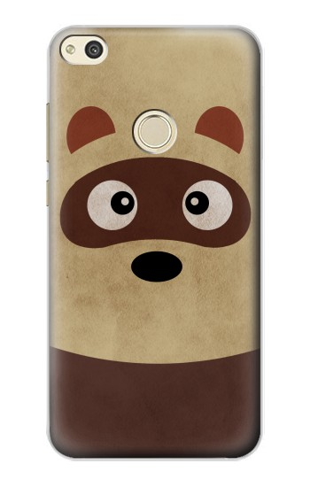 Printed Cute Cartoon Raccoon alcatel Idol 2 Case