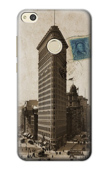 Printed New York 1903 Flatiron Building Postcard alcatel Idol 2 Case